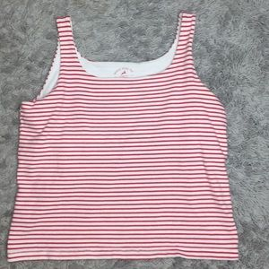 Stag tee cropped  tank top